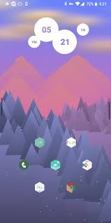 100 Natural Geometry Theme Androidthemes