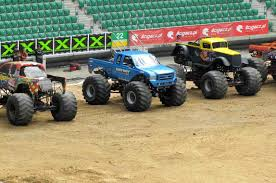 100 Monster Truck Shows 2014 Poland S Sonia En Route