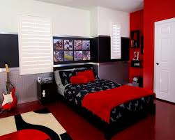 Apartments Stunning Red And White Master Bedroom Ideas