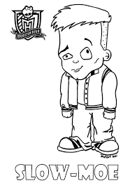 Baby Slow Moe Printable Coloring Sheet From JadeDragonne At Deviant Art