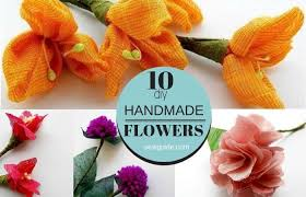 Make Flowers With Fabric
