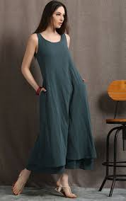 linen maxi dress womens dresses plus size dress sage green