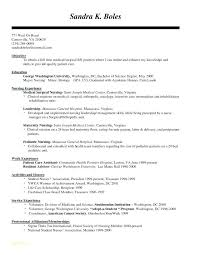 Nurse Resume Format Free Registered Templates With For Nursing Job Download