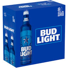 Bud Light Beer 8 pack 16 fl oz Walmart