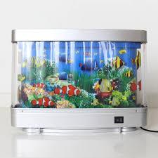 gefälschte fisch moving bild le aquarium motion fisch nachtlicht geschenk spielzeug aquarien turm wohnzimmer ozean aquarium aquarium