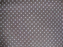 Dotted Swiss Curtain Fabric by Vintage 70s Grey Swiss Dot Fabric Taupe Cotton Blend White Polka