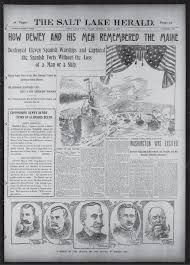 Sinking Of The Uss Maine Newspaper by Spanish American War Records Newspapers U0026 Articles