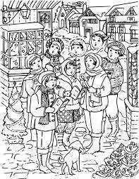 A Christmas Carol Coloring Page