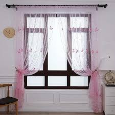 zongha gardine weiss gardine weiß vorhänge für windows für wohnzimmer floral schmetterling sheer vorhänge moderne voile panels sheer vorhänge