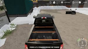 100 How To Plow Snow With A Truck Ford F250 Snow Plow V10 FS19 Farming Simulator 2017 Mod