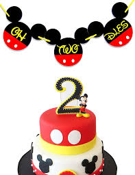 OH TWO DLES! Mickey Mouse Birthday Banner   Mickey Birthday Decorations    Happy Birthday Banner   Mickey Mouse Birthday Banner   Club House 2nd ... Minnie Mouse Room Diy Decor Hlights Along The Way Amazoncom Disneys Mickey First Birthday Highchair High Chair Banner Modern Decoration How To Make A With Free Img_3670 Harlans First Birthday In 2019 Mouse Inspired Party Supplies Sweet Pea Parties Table Balloon Arch Beautiful Decor Piece For Parties Decorating Kit Baby 1st Disney