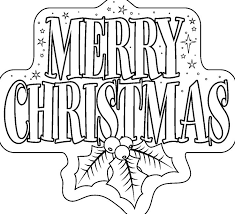 Merry Christmas Coloring Pages Printables For Kids Adults Free