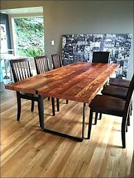 Diy Farm Table Plans Rustic Dining Room Fabulous Kitchen