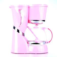 Pink Coffee Pot Cute Maker S Single Cup