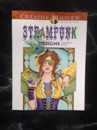Steampunk Design Coloring Books Comic Book Link Ebay Awesome