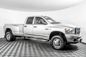 100 Dodge Dually Trucks For Sale Used 2007 Ram 3500 SLT 4x4 Diesel Truck