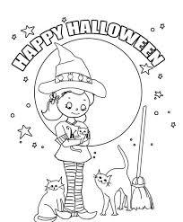 Kensie Cooks Halloween Coloring Pages Preschool Printables