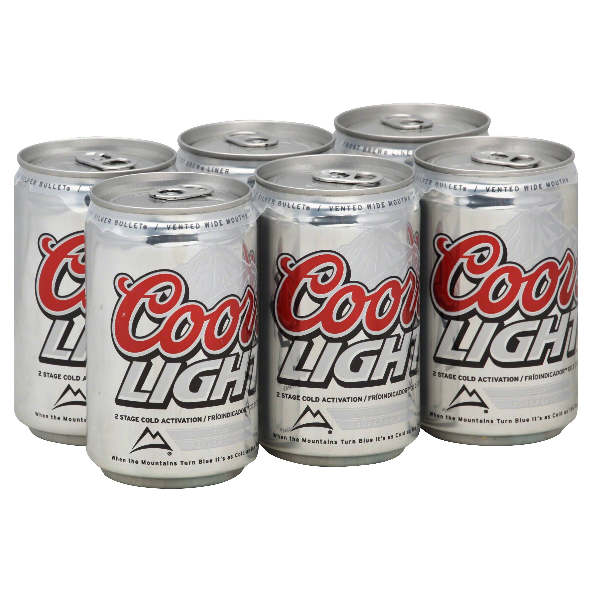 Coors Light Beer - 8oz