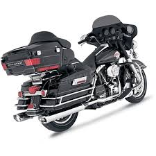 Vance And Hines Dresser Duals Heat Shields by Vance U0026 Hines Chrome Monster Oval Slip On Mufflers W Chrome Tips