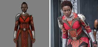 100 Carter Design WATCH Black Panther Costume Er Ruth E