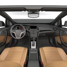 à l intérieur du roadster intérieur d une voiture convertible