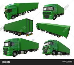 100 The Big Green Truck Set Large Image Photo Free Trial Stock