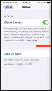 Fix The last backup could not be pleted iCloud error in iPhone