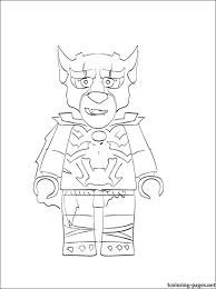 Coloring Page With Worriz Lego Chima For Those Who Like This Theme Of Toys Picture Printable Boys Free