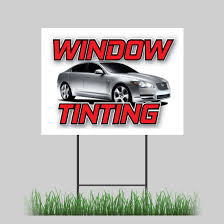 100 The Car And Truck Store 18x24 Window Tinting Yard Sign SUV Dark Film Limo Retail