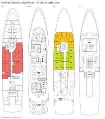 Celebrity Silhouette Deck Plan 6 by Celebrity Silhouette Deck Plan Radnor Decoration