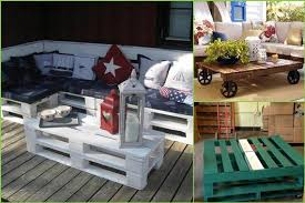 Coffee Table With Pallets 4