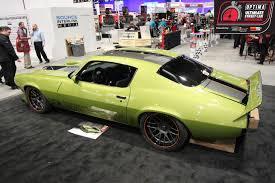Randy Johnson's 1973 Chevrolet Camaro Was Selected From The #SEMA ...