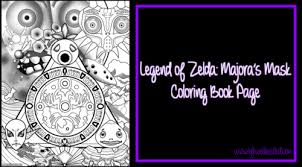 Zelda Coloring Book Pages