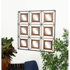 Contemporary Grid Wall Decor