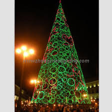 20ft Giant Outdoor LED Lighted Christmas Trees