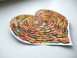 Diy Hearts From Waste Material Art Craft Ideas With Regard To
