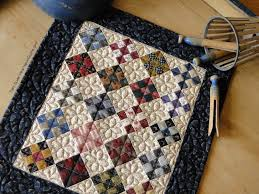 Heartspun Quilts Pam Buda Tiny Nine Patch Quilt Finished
