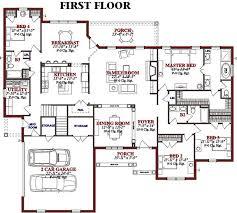 One Level House Floor Plans Colors 261 Best Floor Plans Images On Pinterest Architecture Craftsman