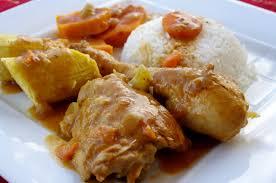 cuisiner des bananes plantain mafé de poulet aux patates douces et bananes plantain kiyakuisine