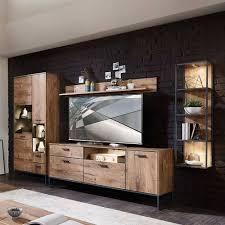 wohnzimmer design wohnwand möbelset xindus 4 teilig
