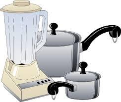 Blender And Pots