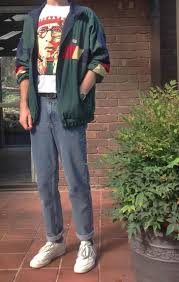 Baggy Casual 90s Streetwear Inspo 80s Fashion MenVintage