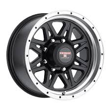 100 Discount Truck Wheels Level 8 Strike 8 Rims 18x9 8x65 8x1651 Machine Black 0