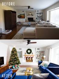 Living Room Makeovers 2016 by The Holiday Living Room Makeover We Gifted With Lowe U0027s Holidays