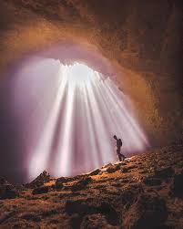 Light Of Heaven Jomblang Cave Yogyakarta Indonesia Photo By IG