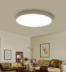50cm warmes licht weiß ultra dünne deckenleuchte modern