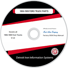100 1949 Ford Truck Parts 19801989 Manuals On CD Detroit Iron