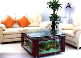 interior home design home decorating table aquarium fish tank