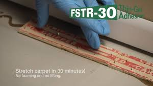 how to install carpet tackless strips to concrete without nails