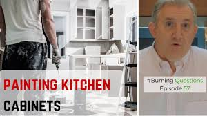 Nuvo Cabinet Paint Video by Painting Kitchen Cabinets Is It A Good Idea Naperville